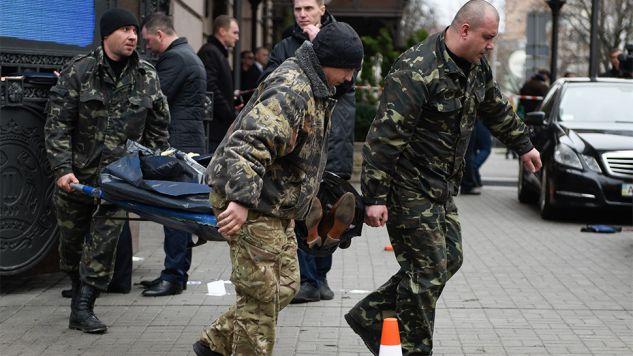 Zabójca Woronienkowa przeszedł szkolenie w rosyjskim ośrodku przygotowującym dywersantów (fot.PAP/EPA/ANDREW KRAVCHENKO)