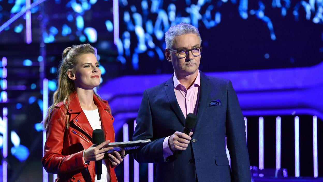 Wsparciem dla młodych uczestników na pewno byli Marta Zalewska i Artur Orzech  (fot. I. Sobieszczuk)