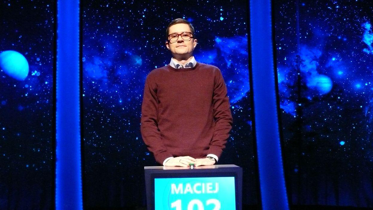 Maciej Król - zwycięzca 4 odcinka 102 edycji