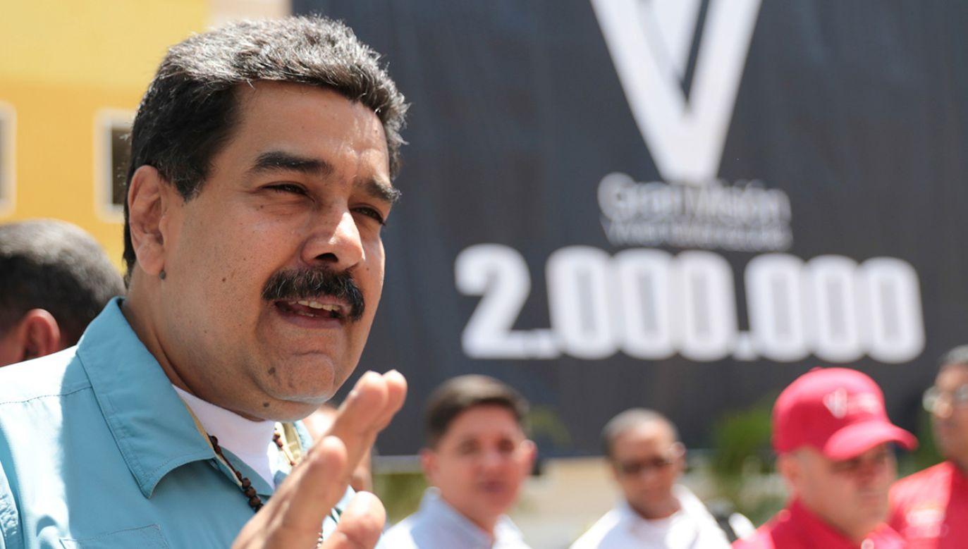 Petro będzie wspierane przez bogactwa naturalne Wenezueli (fot. Miraflores Palace/Handout via REUTERS)