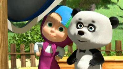 Masza i niedźwiedź: Gwiazdy małego ekranu, odc. 49
