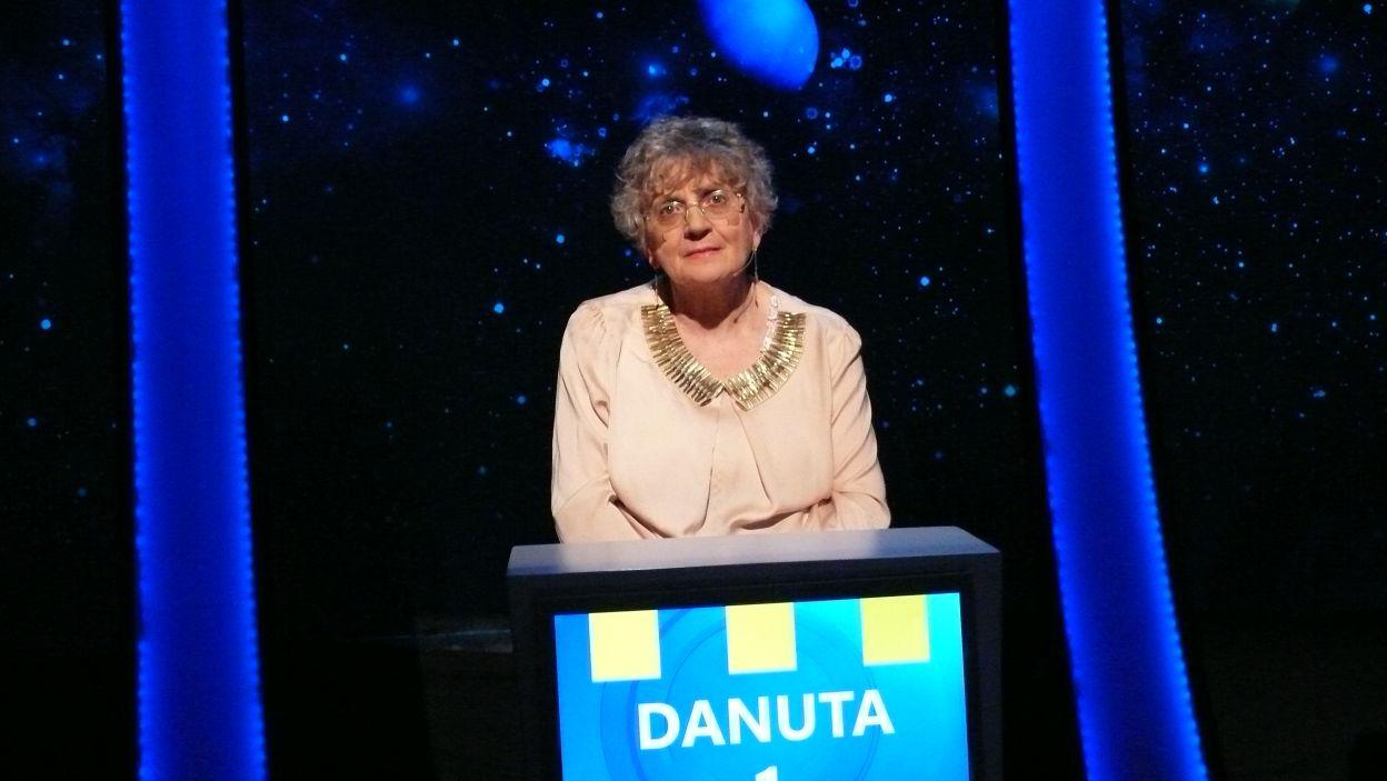 Pani Danuta wylosowała pierwsze stanowisko i to ona rozpocznie rozgrywkę 8 odcinka 109 edycji