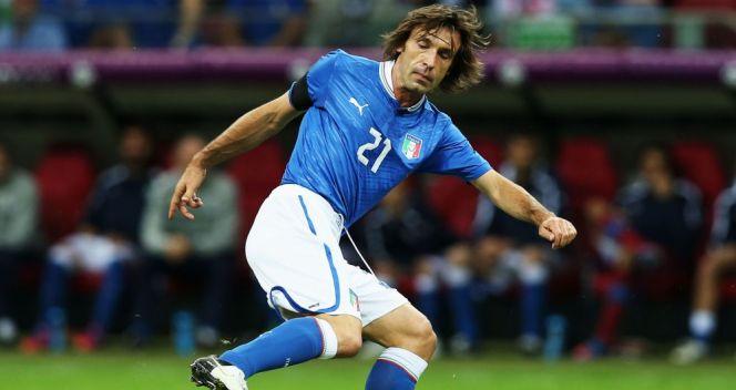 Andrea Pirlo rozegrał fantastyczny turniej i był wielkim przywódcą Italii (fot. Getty Images)