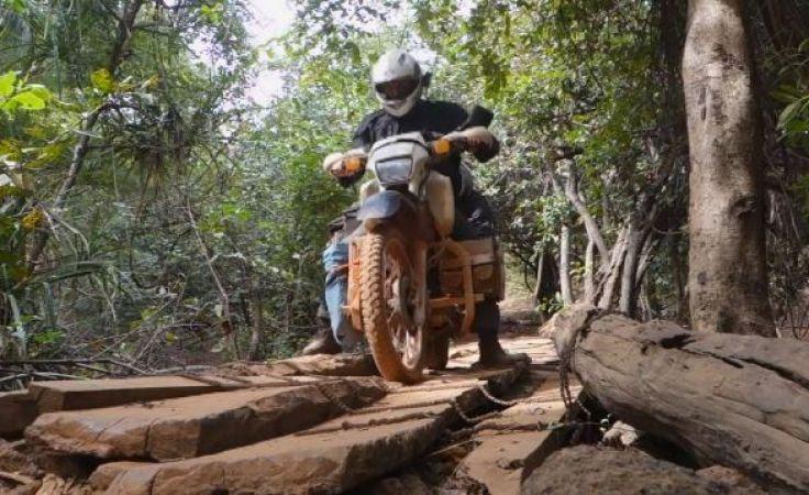 Motocyklem przez świat. Podróżnik wrócił do rodzinnego miasta