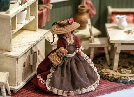 Wystawa domków dla lalek