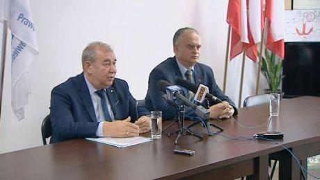 Wizytę szefa resortu podczas konferencji prasowej potwierdził poseł Jerzy Wilk