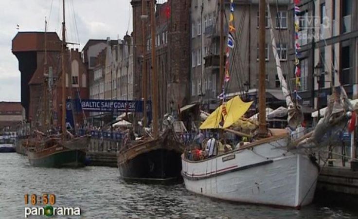 Jubileuszowy dwudziesty zlot żaglowców Balic Sail