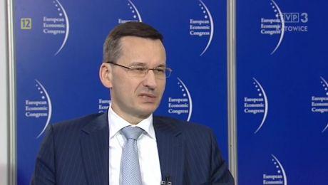 10.05.2017 - minister Mateusz Morawiecki
