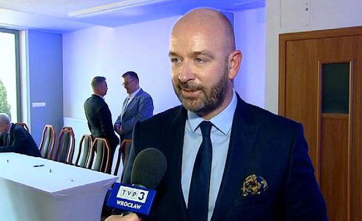 Jacek Sutryk (fot. TVP3 Wrocław)