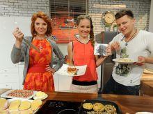 Aleksandra Galewska, Marika i Rafał Brzozowski rządzili w kuchni (fot. A.Drygas)