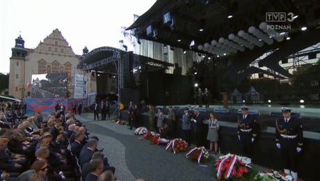 Uroczystości Państwowe 60. rocznicy Czerwca'56 z Placu A.Mickiewicza (28.06.2016)