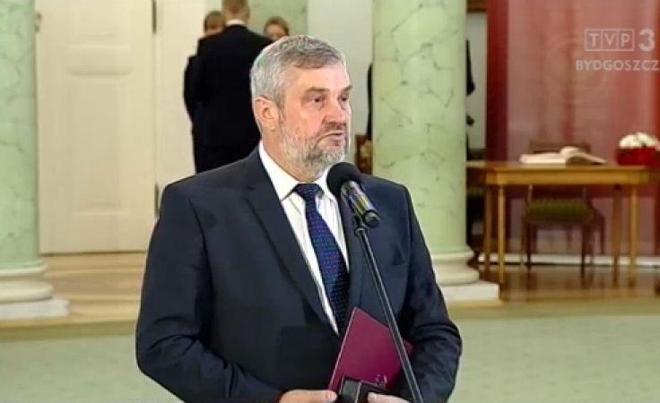 Jan Krzysztof Ardanowski oficjalnie ministrem rolnictwa