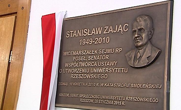 Uniwersytet Rzeszowski pamięta o  Stanisławie Zającu