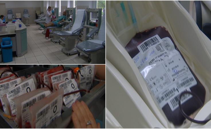 W banku krwi zaczyna brakować grup Rh-