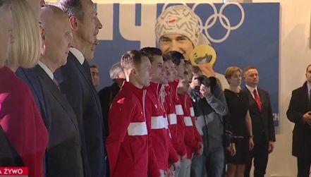 Ślubowanie sportowców i trenerów przed wylotem do Pjongczangu