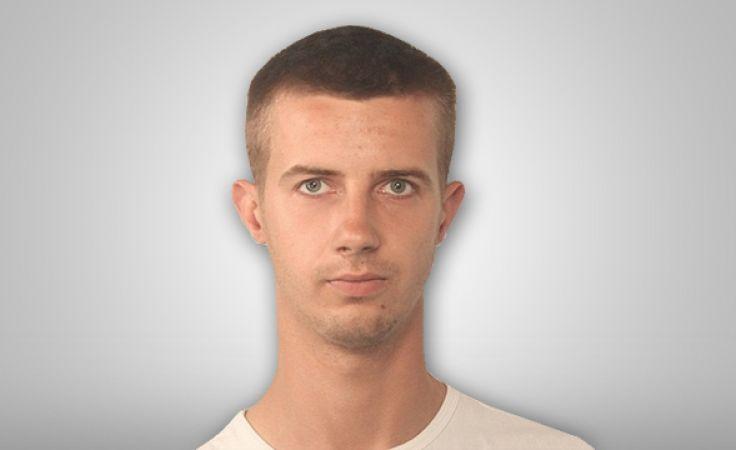 Zaginiony to 25-letni Mateusz Gaza
