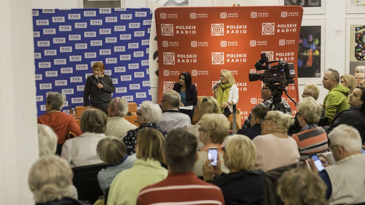 Miłośnicy jej talentu tłumnie przybyli na spotkanie z aktorką (fot. S. Loba)