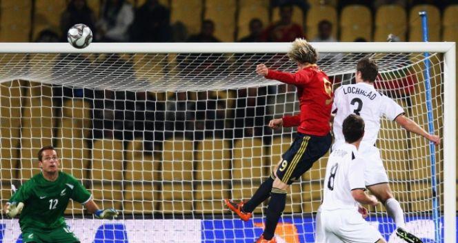 W reprezentacji Hiszpanii Torres strzelił do tej pory 30 goli (fot. Getty Images)