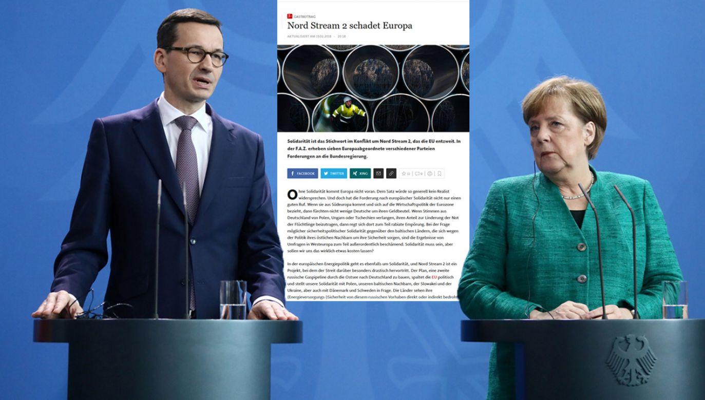Polska sprzeciwia się budowie Nord Stream 2 (fot. PAP/Paweł Supernak)