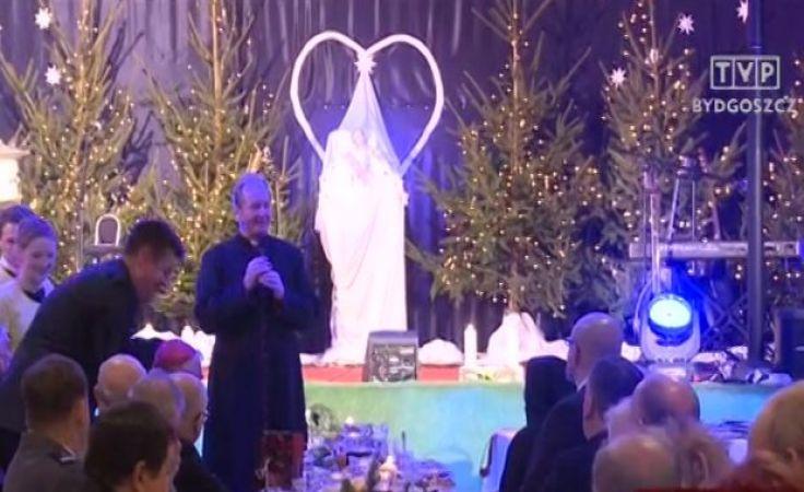 Wigilia w toruńskim Caritasie