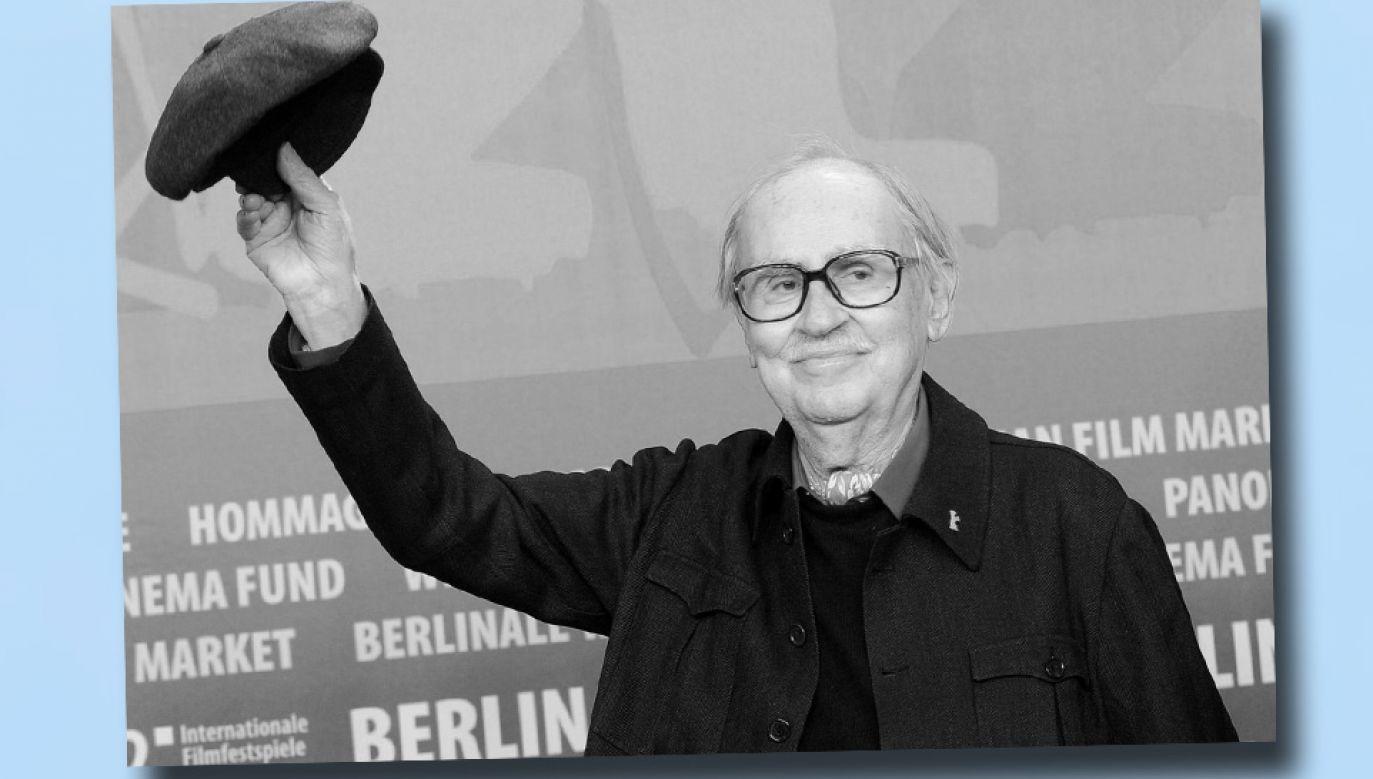 Vittorio Taviani został uhonorowany wieloma ważnymi nagrodami (fot. TT/BFMTV)