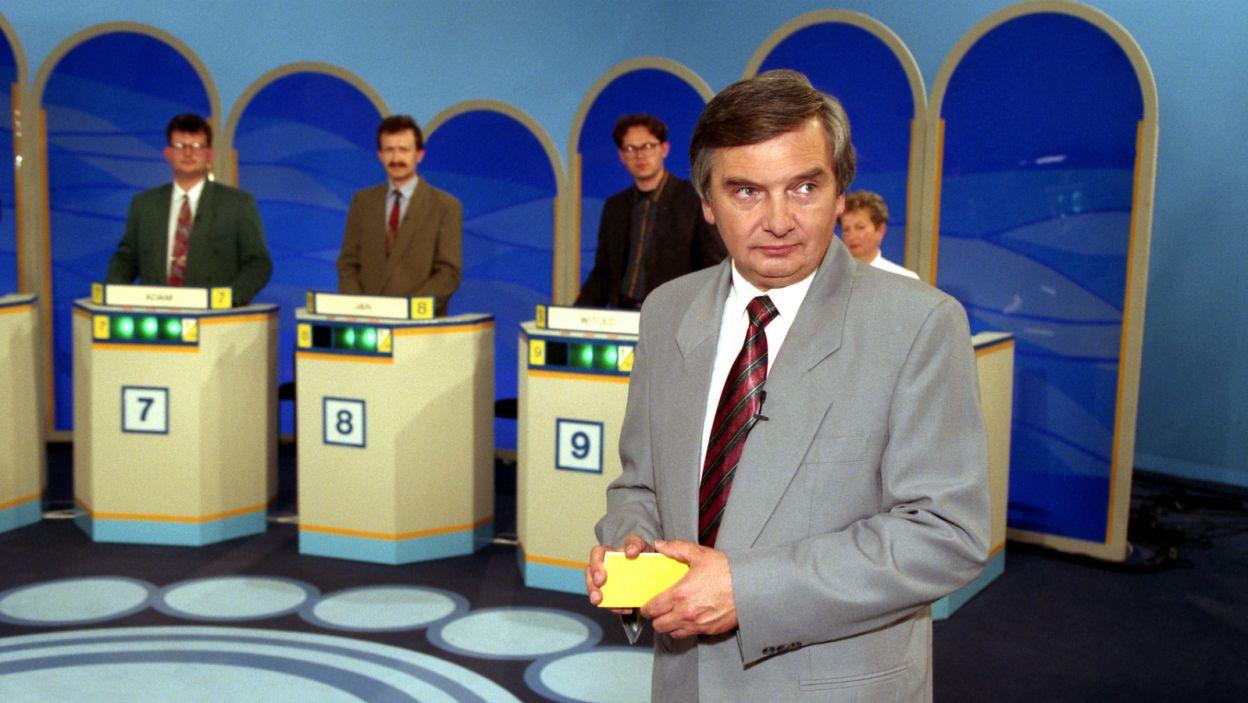 Pamiętacie pierwsze odcinki programu? Czas płynie, ale niektóre elementy teleturnieju pozostały niezmienne (fot. TVP)