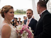 Gdyby nie spóźnienie świadka, ślub byłby idealny (fot. A. Rybak/ TVP)