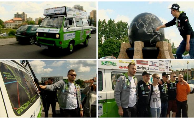 Studencka podróż dookoła świata 26-letnim Volkswagenem