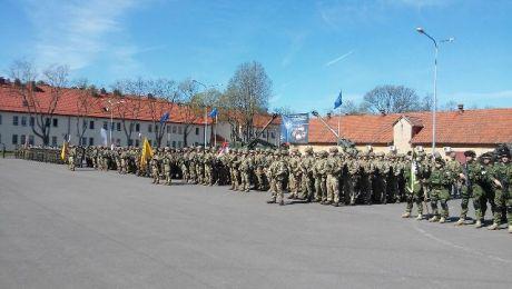 Wielonarodowa Batalionowa Grupa Bojowa NATO stacjonuje na poligonie Orzysz od kwietnia ubiegłego roku