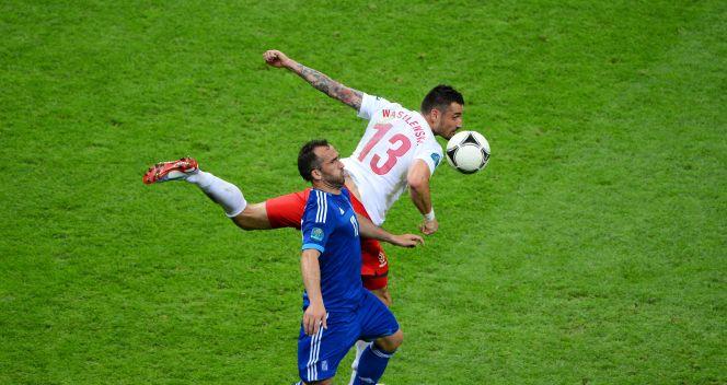 Theofanis Gekas i Marcin Wasilewski (fot. Getty Images)