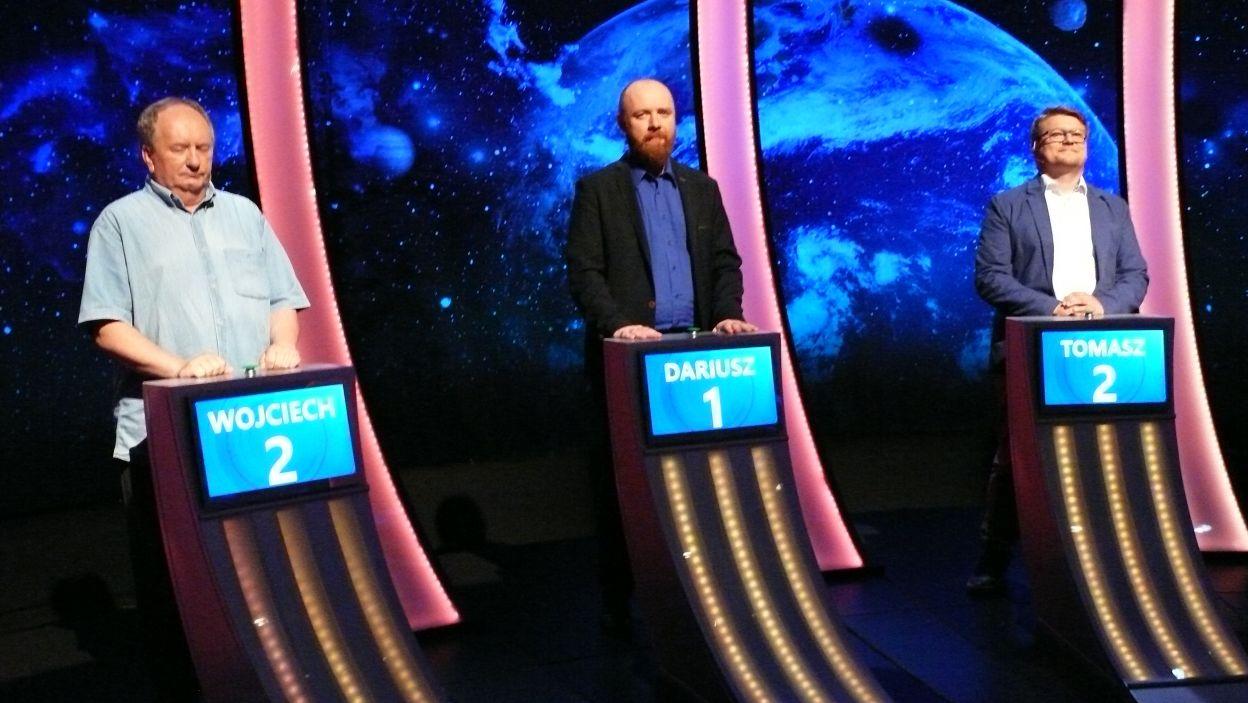 Finalistami 13 odcinka 107 zostało 3 najlepszych graczy z odcinka