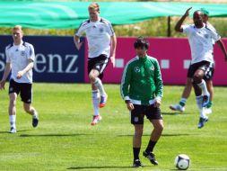 Niemcy trenują przed Euro 2012