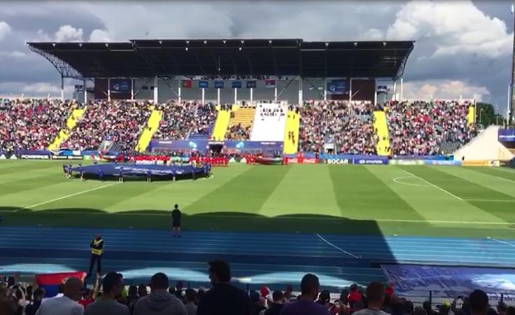 Pełne trybuny Stadionu Zawiszy Bydgoszcz