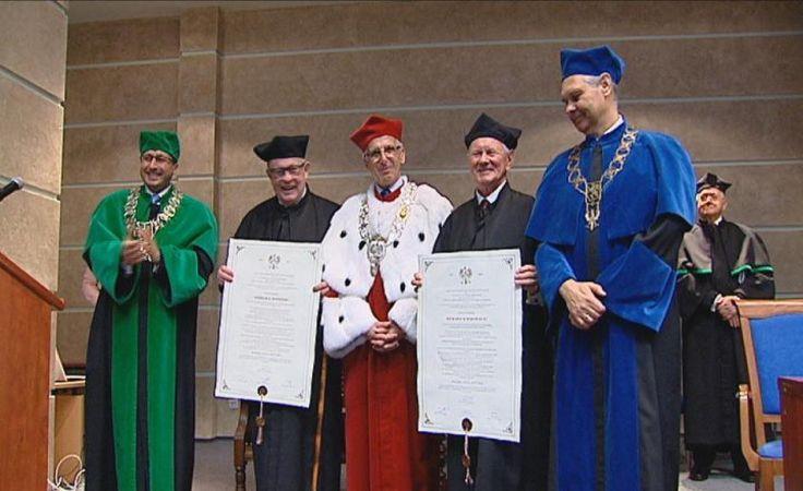 US nadał tytuły doktora honoris causa