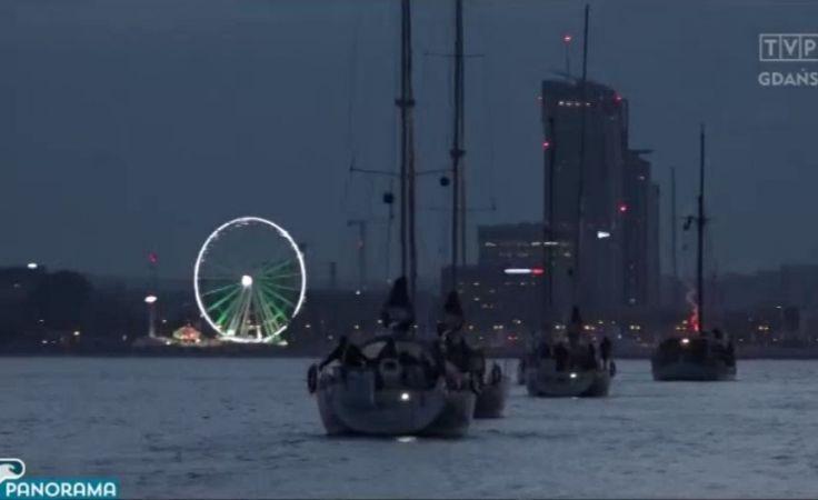 Parada Świętojańska na Zatoce Gdańskiej