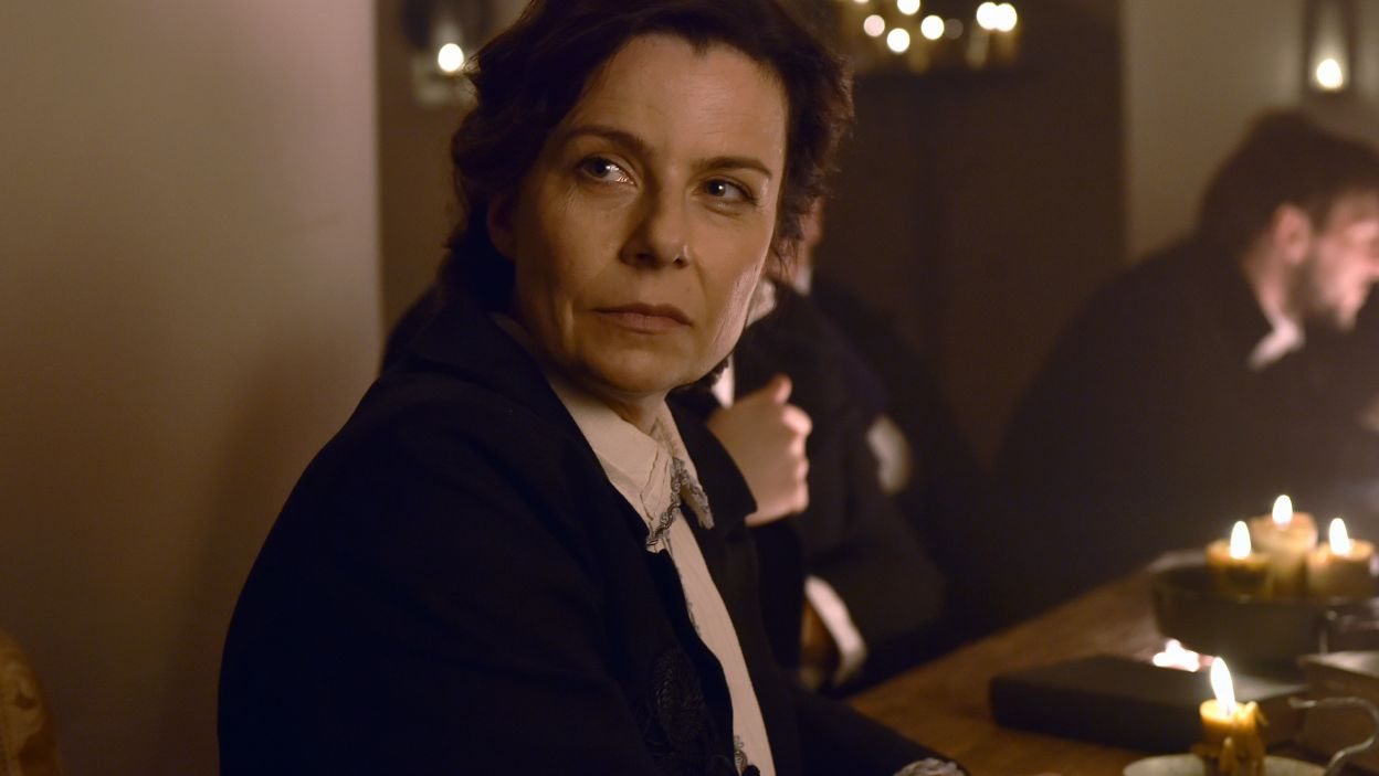 W pozostałych rolach zobaczymy m.in. Agatę Kuleszę jako Sofię Antonowną… (fot. Ireneusz Sobieszczuk/TVP)