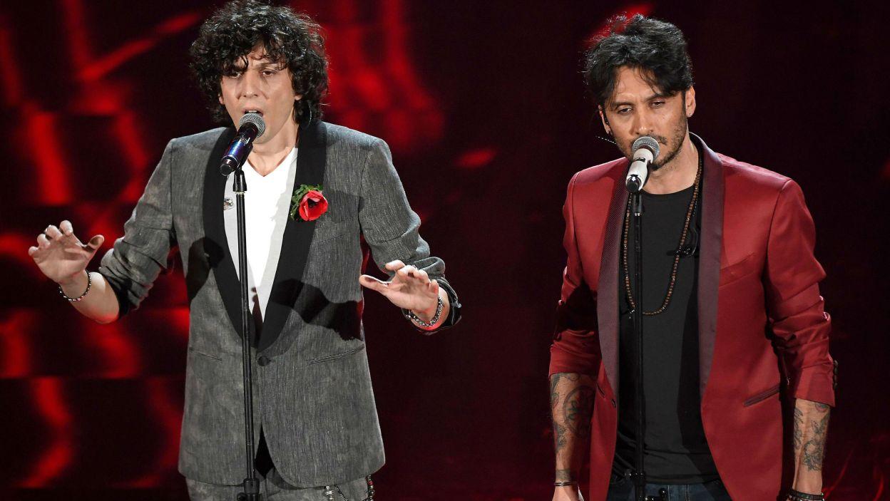 """Włochy: """"Non mi avete fatto niente"""" to tytuł piosenki reprezentanta Włoch, którą usłyszymy w finale. Wykonają ją Ermal Meta i Fabrizio Moro (fot. PAP)"""