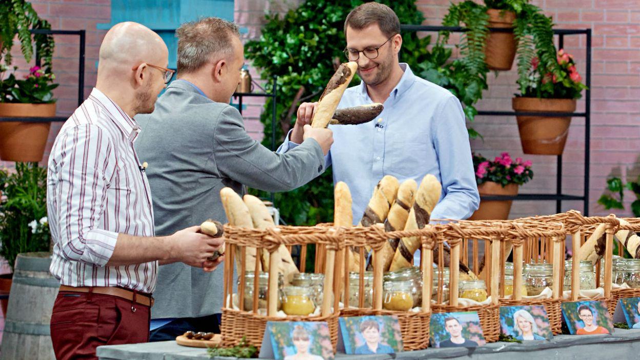 Luc Magnon był pod wrażeniem kulinarnych zdolności uczestników (fot. TVP)
