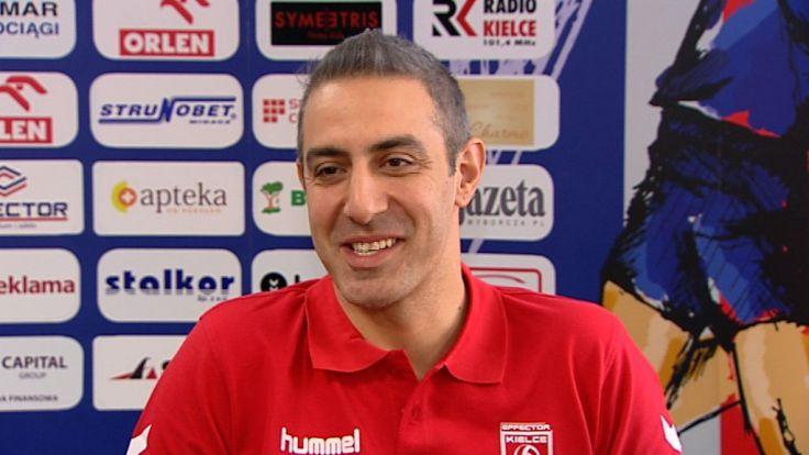 Trener Effectora liczy na dobry występ jego zawodników przeciw Olsztynowi