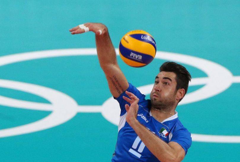 Ekipa USA tylko w pierwszym secie walczyli z Włochami (fot.PAP/EPA)