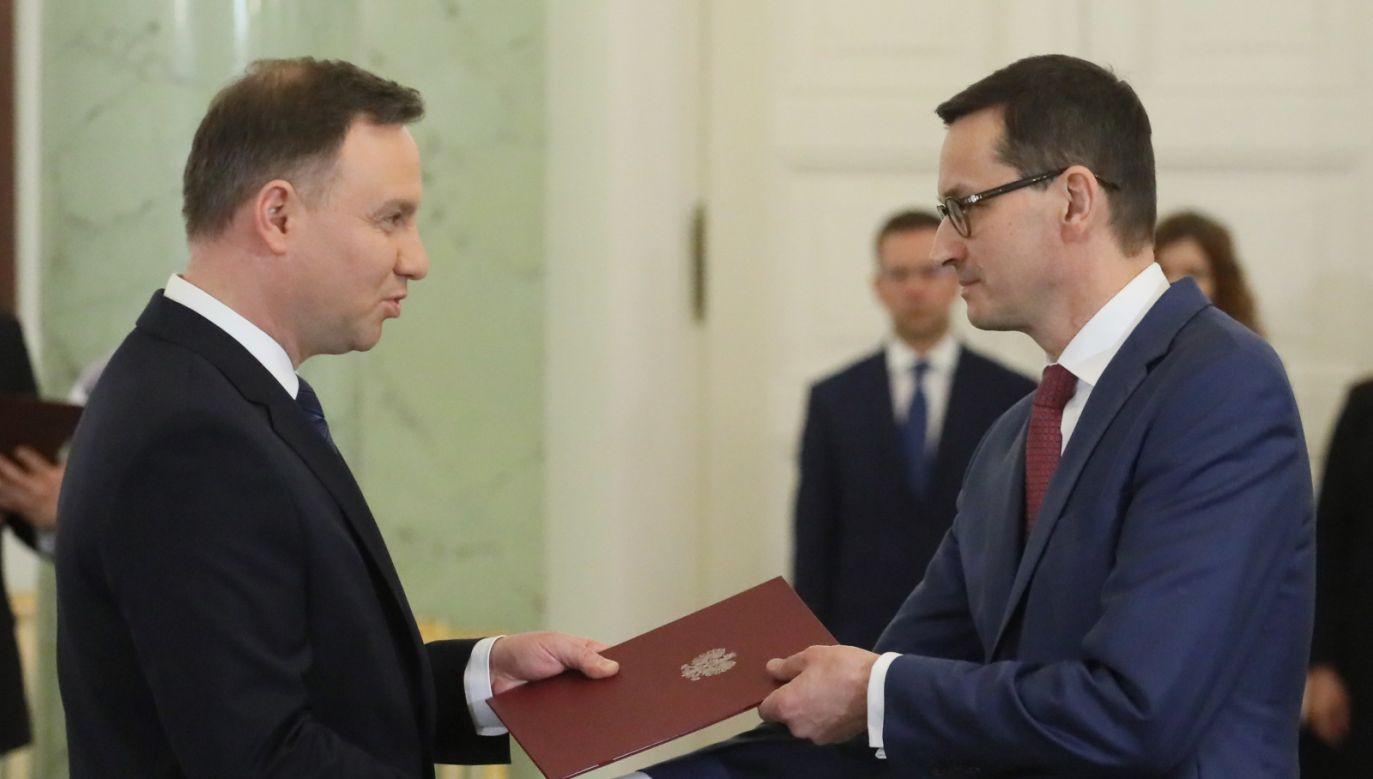 Mateusz Morawiecki zastąpił Beatę Szydło na stanowisku premiera (fot. PAP/Paweł Supernak)
