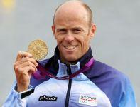 Norweg Larsen zdobył złoty medal w rywalizacji K1 na 1000 metrów (fot. Getty Images)