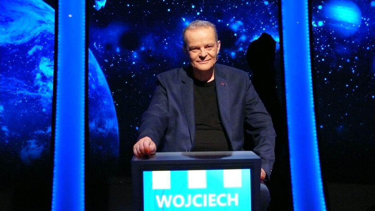 Pan Wojciech już gotowy do rozgrywki ostatniego odcinka serii 107 edycji może to on zostanie ostatnim finalistą Wielkiego Finału
