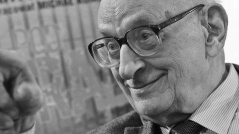 Władysław Bartoszewski (1922-2015) fot. PAP/Rafał Guz