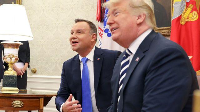 Wizyta prezydenta RP w Waszyngtonie [RELACJA]