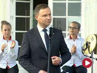Prezydent: nie oddamy dobrej zmiany, nie oddamy za nic w świecie