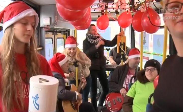 W tramwaju zbierali datki na pomoc chorej matce dwójki dzieci