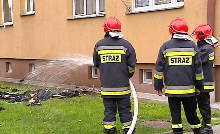 Spłonęło mieszkanie przy ul. Krzywoustego w Rzeszowie