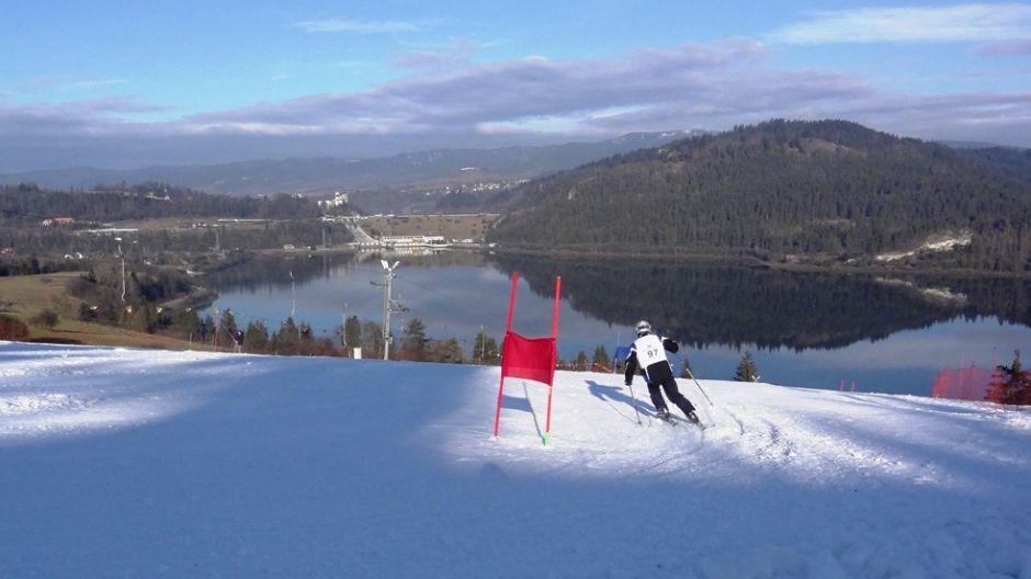 II Międzynarodowe Mistrzostwa w Narciarstwie Alpejskim  Yacht Klubu Polski na Polanie Sosny