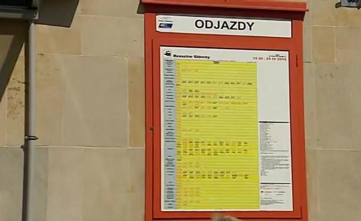 Nowy rozkład jazdy Przewozów Regionalnych i Intercity.